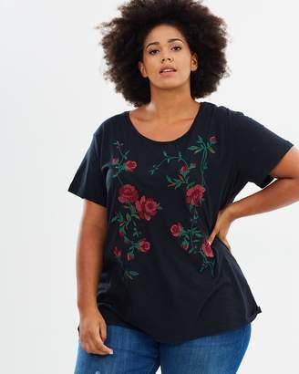 Junarose Rose SS T-Shirt
