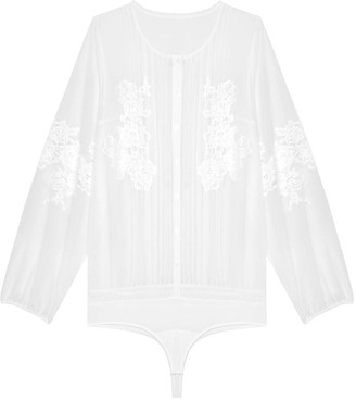 Black Label Suzanne Blouse Bodysuit