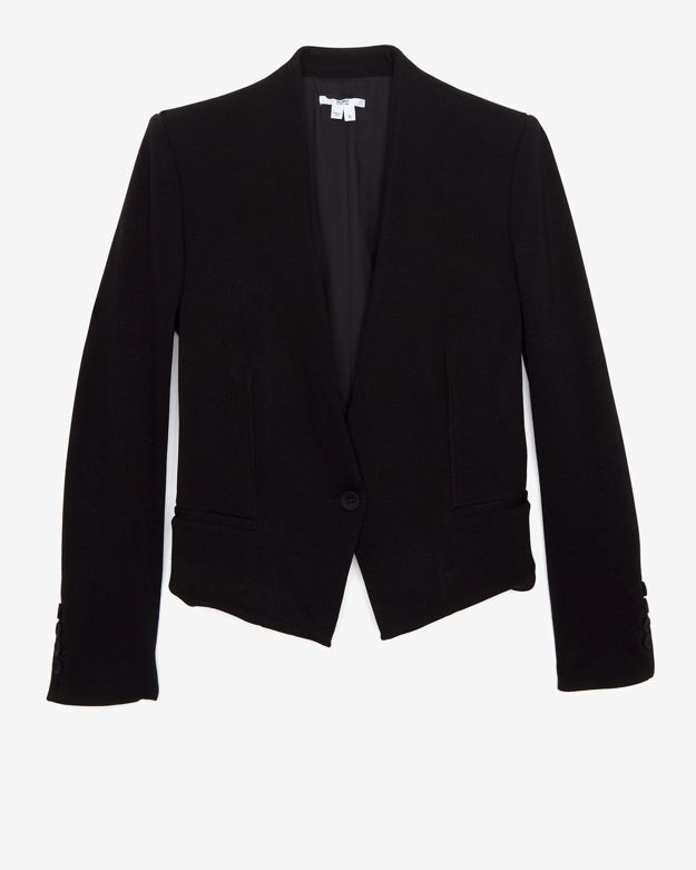 Helmut Cropped Gala Tux Blazer