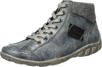 Rieker Women Ankle Boots blue, (ozean/granit/schwarz) L654014