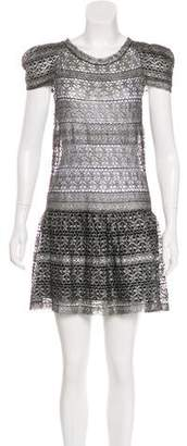 Isabel Marant Metallic Lace Dress