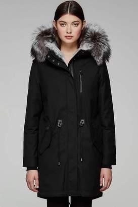 Mackage Rena-X Ladies Fur Lined Twill Parka