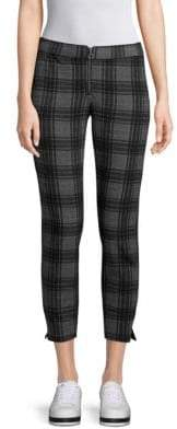 Hue Plaid Cropped Pants