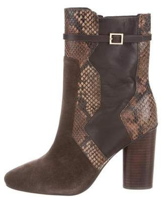 Tory Burch Pointed-Toe Ankle Boots