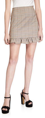 Cupcakes And Cashmere Matilda Checked Skirt