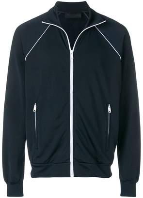 Prada zipped sweatshirt jacket