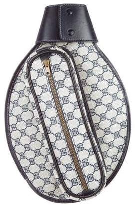 Gucci Vintage GG Plus Racket Cover