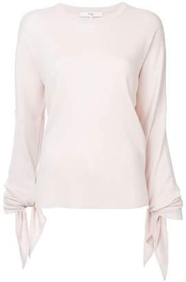 Tibi tied sleeve pullover