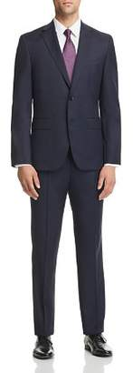 BOSS Micro-Houndstooth Johnstons/Lenon Regular Fit Wool Suit - 100% Exclusive