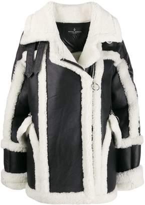 Nicole Benisti shearling puffer coat
