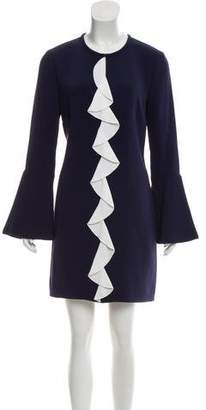 Rachel Zoe Ruffle-Accented Mini Dress w/ Tags