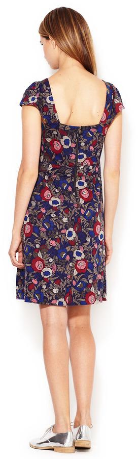 Marc by Marc Jacobs Wall Flower Jersey Sweetheart Sheath Dress