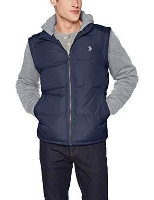 U.S. Polo Assn. Men's Vest with Detachable Sleeves,M