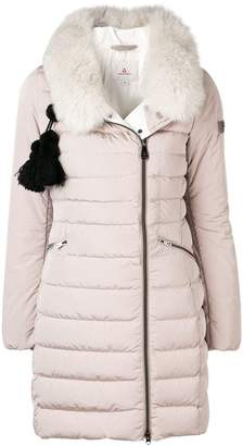 Peuterey tassel detail padded coat