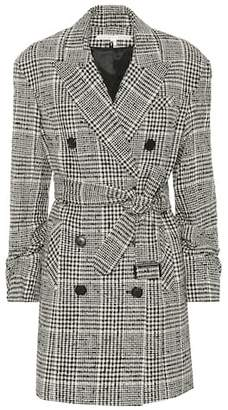 Veronica Beard Augusta checked cotton-blend coat