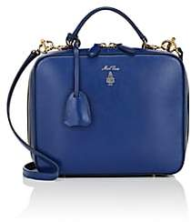 Mark Cross Women's Laura Leather Camera Bag - Blue