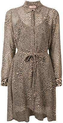 Twin-Set leopard print tunic