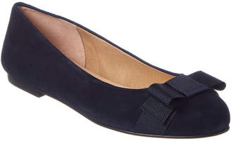 French Sole Halsey Suede Flat