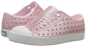 Native Kids Shoes - Jefferson Bling Glitter Girls Shoes $45 thestylecure.com
