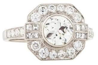 d Collection Sophia Platinum 1.89ctw Diamond Cocktail Ring