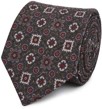 Reiss Our last order date for Christmas has now passed MICHAEL WOOL TIE Mid Brown
