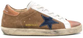 Golden Goose Superstar contrast sneakers