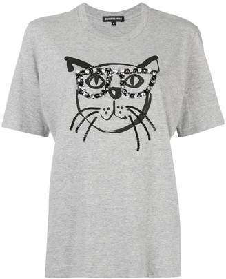 Markus Lupfer Alex jewel Geek Cat T-shirt