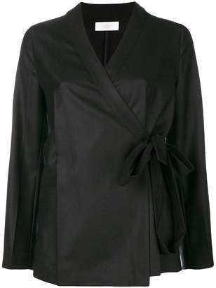 Incotex wrap-around blouse