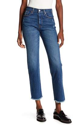 Levi's Wedgie High Waist Straight Jeans (Lasting Impression)