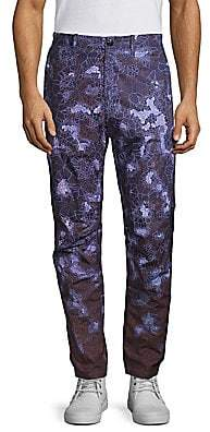 Stone Island Men's Camo Print Pants