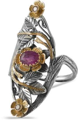 Emma Chapman Jewels Siren Ruby Diamond Ring