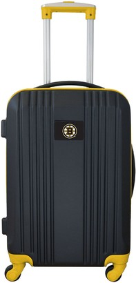 Boston Bruins 21-Inch Wheeled Carry-On Luggage