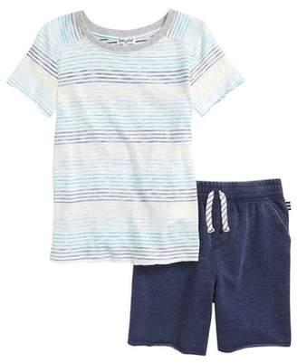 Splendid Stripe T-Shirt & Shorts Set