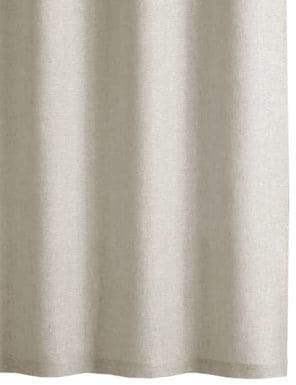 Hotel Collection Extra-Long Linen Shower Curtain