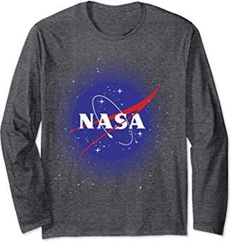 NASA Logo In Space Graphic Long Sleeve Tee
