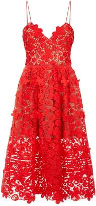 Self-Portrait Floral Lace Azaelea Cami Dress