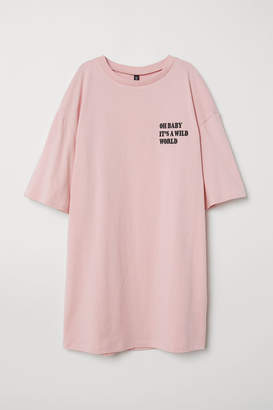 H&M T-shirt Dress - Pink