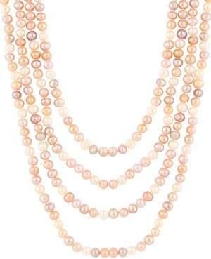 7-7.5MM Multicolor Pearl Necklace