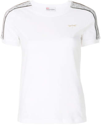 RED Valentino dragonfly patch T-shirt