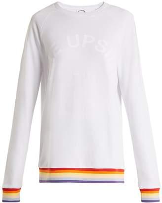 The Upside Rainbow cotton-jersey sweatshirt