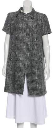 Chanel Tweed Metallic Coat