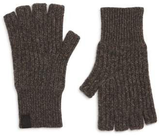 Rag & Bone Ace Rib Knit Cashmere Fingerless Gloves