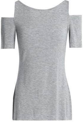 Bailey 44 Cold-Shoulder Jersey Top