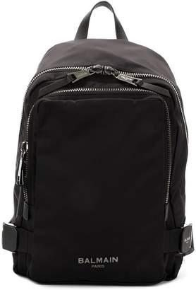 Balmain logo backpack