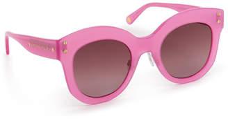 Henri Bendel Melanie Round Sunglasses
