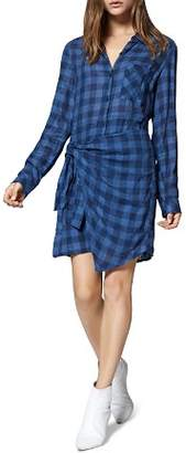 Sanctuary Ani Check Overlay Shirt Dress