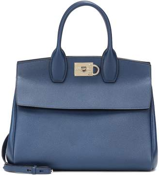 Salvatore Ferragamo Studio leather tote