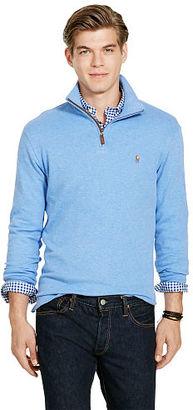 Polo Ralph Lauren Estate-Rib Cotton Pullover $89.50 thestylecure.com
