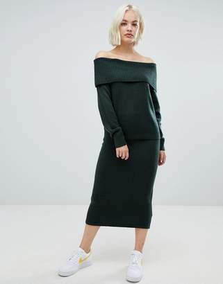 Asos DESIGN two-piece midi skirt in fluffy yarn