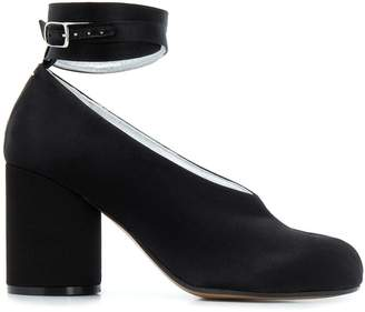 Maison Margiela Tabi wrap-around ankle strap pumps